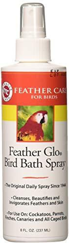 Miracle Care Feather Miracle Care Feather Glo Bird Bath Spray, 8-Ounce