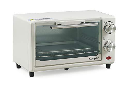 Kooper Arizona 11 - Forno elettrico, 11 L, 650W, Bianco/Grigio, 36 X 22 X 21 cm