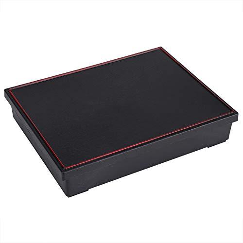 Oubit Fiambrera Bento Fiambreras portátiles Fiambrera Bento Contenedor de Comida Estilo japonés Caja de Almacenamiento de Madera Picnic de Oficina