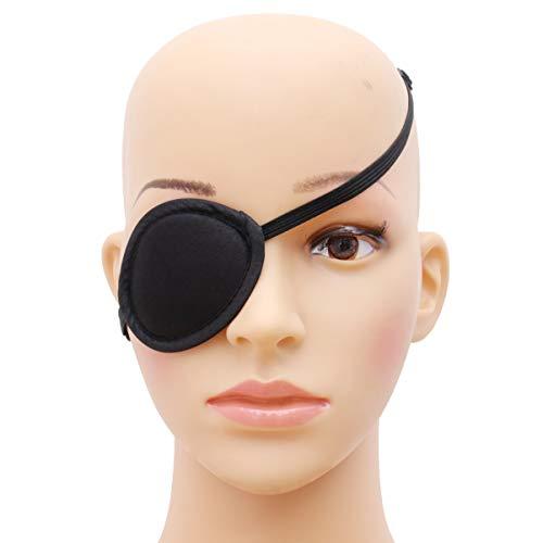 Healifty Parche de ojos elástico para niños con parche de ojo de ambliopía ajustable para niños
