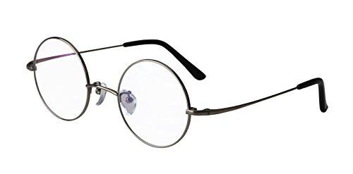 Agstum Pure Titanium Retro Round Prescription Eyeglasses Frame 44-24-140