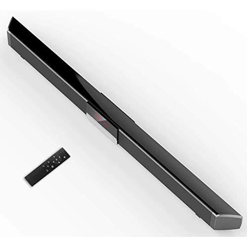 Barra de Sonido para TV, Audio Bluetooth inalámbrico Envolvente 3D, Potencia máxima de 100 W, Almacenamiento extendido de 32 GB, Soporte/Fibra/Disco U/Entrada USB, Adecuado para Cine en casa