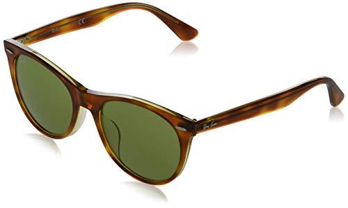 Ray-Ban Gafas de sol para hombre Rb2185f Wayfarer Ii de ajuste asiático