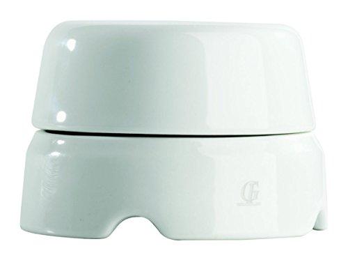 Gi Gambarelli - scatola derivazione in porcellana Ø 80