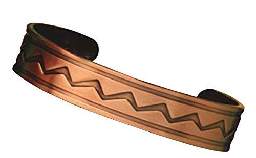 Magnetschmuck Indio Kupfer Armreif fr jugendliches Aussehen und zum Schutz vor negativen Energien