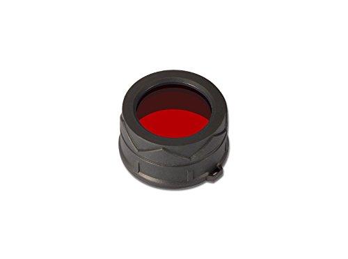 Nitecore Unisex – Filtro de Color para Adultos, 34 mm, Accesorios Rojos, linternas, tamaño único