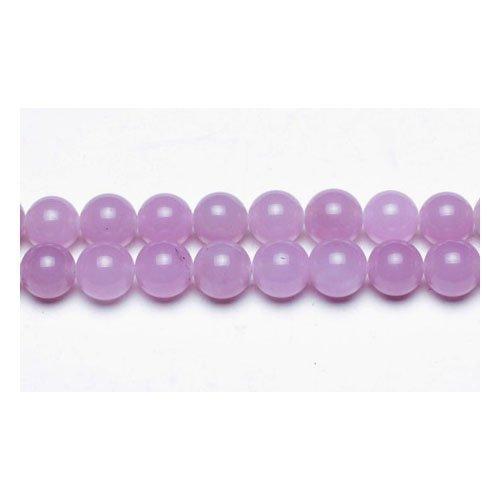 Charming Beads Giada Malese Perline Lilla Tondo 6mm Filo di 62+