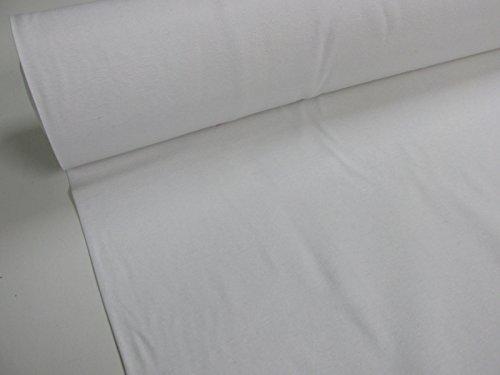 Confección Saymi - Metraje 0,50 MTS. Tejido loneta Lisa Nº 103 Blanco con Ancho 2,80 MTS.