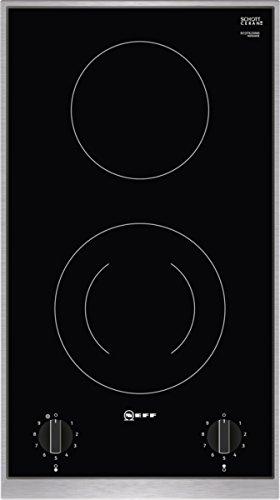Neff N13TK20N0 Domino-Kochfeld N30 / 30 cm / 2 Heizelemente / Designrahmen in Edelstahl