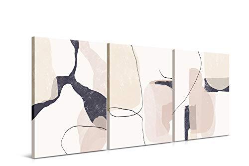 DON LETRA Arte Abstracto - Cuadros para Decoración de Salón y Dormitorio,...