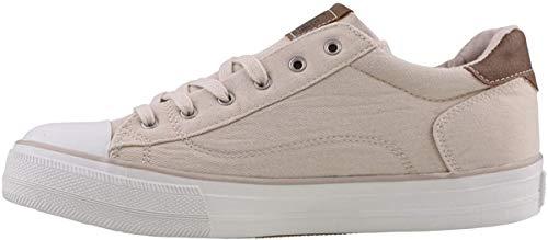 MUSTANG Damen Sneaker Beige, Schuhgröße:EUR 38