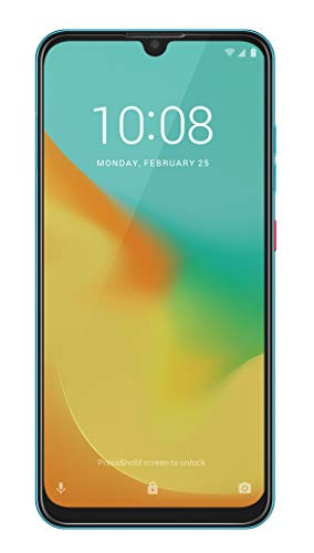 ZTE Smartphone Blade 10 VITA (16 cm (6,26 Zoll) HD+ Display, 4G LTE, 64 GB interner Speicher, 13 MP AI Dual-Kamera und 8 MP Frontkamera, Dual-SIM, Android 9) Grün