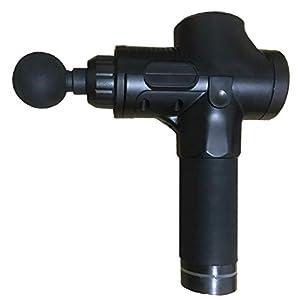 camellia® Fasziengewehrmassage Tiefenmuskelentspannung Physiotherapie Instrument Stromschlag Hochfrequenz Vibration Fitness Hammer (schwarz)