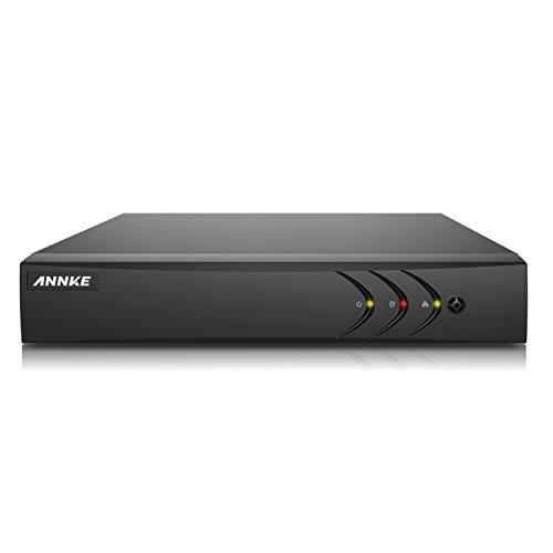 1TB HDD Megapixel 720P 1080P 4CH HD Triple Hybrid TVI IP /& Analog DVR Recorder