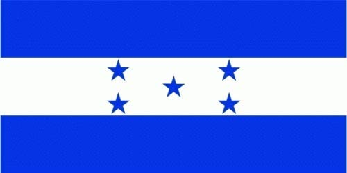 Honduras Fahne/Flagge 90 x 150 cm