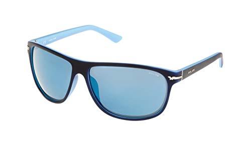 Police S1958M64N05B Gafas de sol, Azul, 64 Unisex
