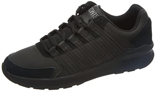 K-Swiss Herren Vista Trainer Sneaker, Black/Black/Black, 45 EU