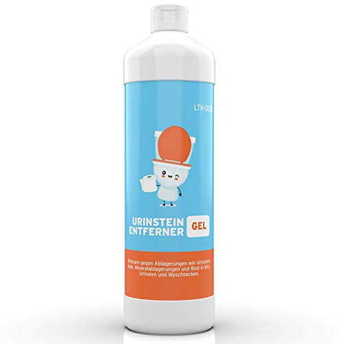 BioFormel Urinsteinentferner | Kalkentferner | Gel | 1000ml hochwirksam | Made in Germany