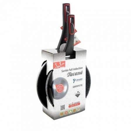 Pack 2 sartenes jata hogar sf3 tacana sf3 2024/ ø20cm/ ø24cm/ Aluminio...