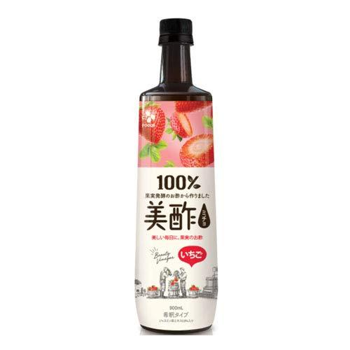 CJジャパン 美酢(ミチョ) いちご 900mlペットボトル×12本入