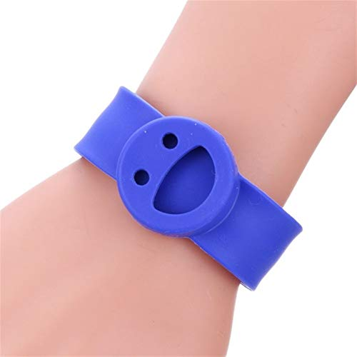 QWERBAM Aromatherapie Schmuck Papa Kreis Armband Perfume Ätherisches Öl Diffuser Armband Kind Interessantes Geschenk Armband Mit Auflage for Smart Watch (Metal Color : 3)