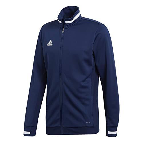 adidas Team19 Track Jacket Veste de survêtement Homme Team Navy Blue/White FR : 2XL (Taille Fabricant : 2XL)