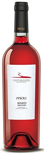 6x 0,75l - 2018er - Vigneti del Vulture - Pipoli - Rosato - Basilicata I.G.P. - Italien - Rosé-Wein trocken