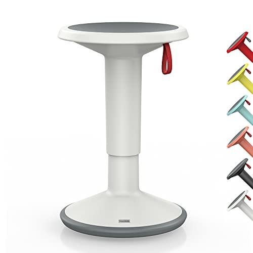 Interstuhl UPis1 - ergonomischer Sitzhocker mit Schwingeffekt – Premium Hocker höhenverstellbar und drehbar Made in Germany – Stehhocker/Drehhocker inkl. 10 Jahren Garantie