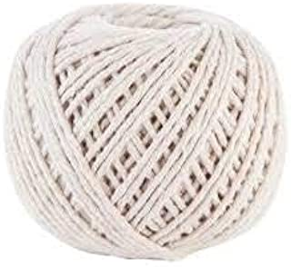 Macrame Cord (#15) - SGT KNOTS - 100% All-Natural Cotton Twine - Cotton Cord & Macrame Supplies - for Cooking, Crafting, Gardening, Gear Bundles, Tie-Downs, Camping, More (1.2mm x 107 feet)
