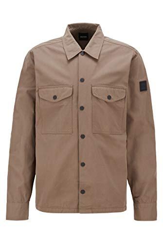 BOSS Lovel_7 10232580 01 Camisa, Caqui, S para Hombre