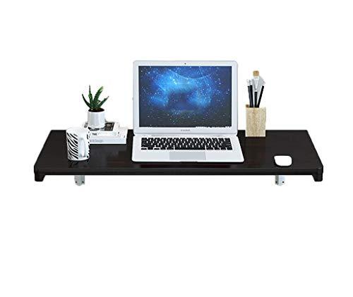 JXJJD Mesa Plegable Negro de Pared de Escritorio del Ordenador portátil (Size : 70x50cm)