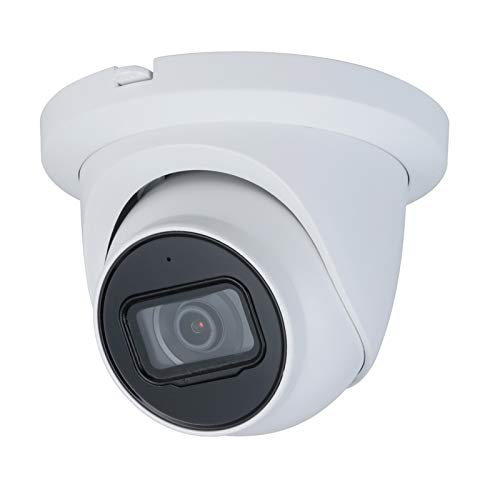 4MP Security Starlight Camera PoE IPC-HDW2431TM-AS-S2 Built - 2.8mm Dome Outdoor Network Surveillance with 98ft Night Vision,SD Card Slot H.265 IP67 Built-in Mic