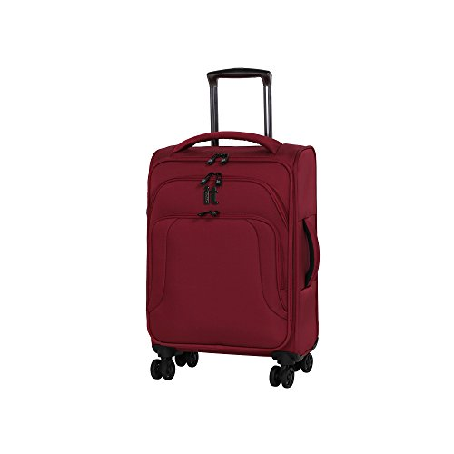 it luggage Megalite Vitality 21.5' 8 Wheel Expandable Lightweight Carry-On, Rio Red