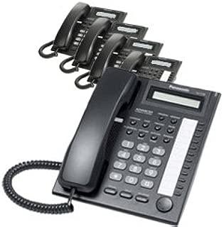 Panasonic KX-T7730 Corded Telephone Black (5 Pack)