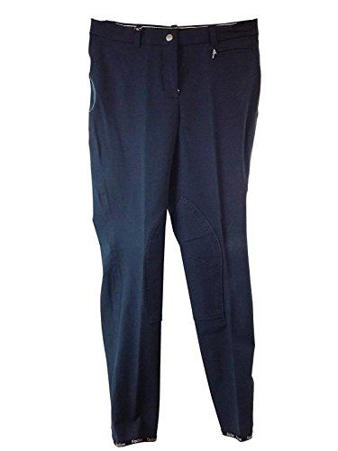 Equiline Pantalon taille basse Barrow bleu marine taille 42
