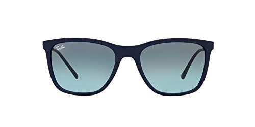 Ray-Ban 0RB4344 Gafas, Blue, 56 Unisex Adulto