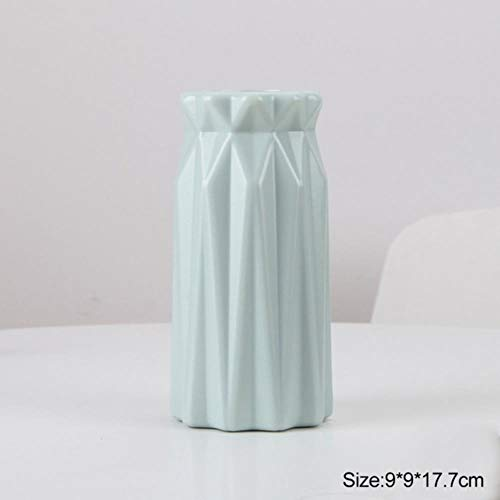 XCVB Nordic stijl Bloem Mand Bloem Origami Plastic Vaas mini fles Imitatie Keramische Bloem Pot decoratie thuis