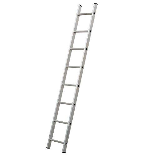 Simple Escalera aluminio, norma EN 131, 8 peldaños