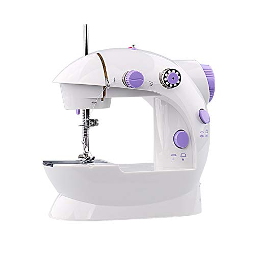Buy GYZ Sewing Machine, Mini Handheld Portable for Quick Repair, Home Double-line Two-Speed Sewing a...
