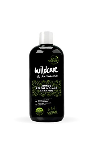 Wildcare 69003 Pflege & Glanz Shampoo ANTI STUMPF, 100% VEGAN und zertifizierte Tierpflege, Bio-Rohstoffe