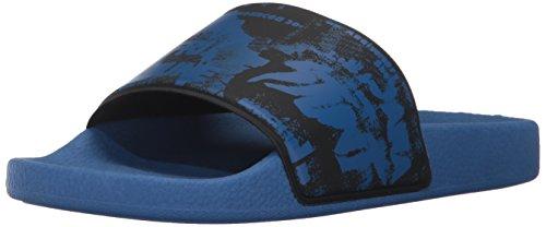 Diesel Herren A-lohaa Sa-maral Dusch-& Badeschuhe, Blau (Surf Blue/Black), 40 EU