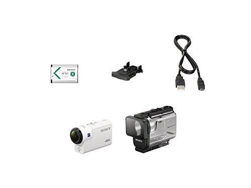 Sony FDR-X3000R 4K Action Cam mit BOSS Live View Remote Fernbedienung – weiß - 14