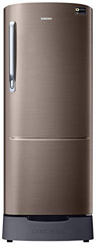 Samsung 230 L 3 Star Inverter Direct-Cool Single Door Refrigerator (RR24T282YDX/NL, Luxe Brown)