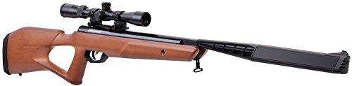 Benjamin Crosman BTN2Q2WX Trail SBD Air Rifle, Wood, 0.22 Caliber