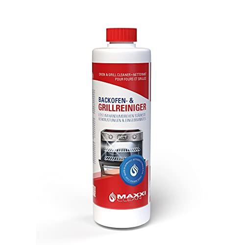 maxxiclean, detergente per forno, pasta gel da 500 ml, scioglie le incrostazioni più ostinate, pulisce automaticamente, senza calore, senza odori