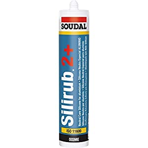 318MBETAvRL. SS300  - SOUDAL - Silicona neutra silirub inox