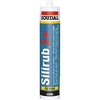 SOUDAL – Silicona neutra silirub inox