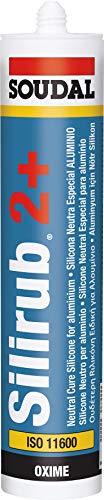 SOUDAL - Silicona neutra silirub inox