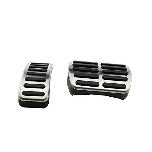WJUKC Pedales de Freno de Gas para automóviles de Acero Inoxidable, para Audi TT A1 A2 A3 Pedale, para…