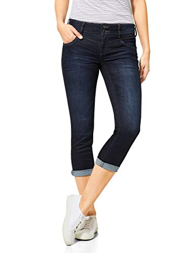 Street One Damen Jane Jeans, Blue Soft wash, W28/L26
